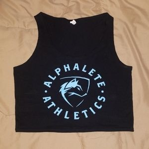 (XS/S) alphalete cropped top